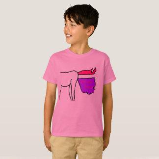 O unicórnio Farts camisa de T