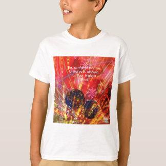 O universo trabalha para você camiseta