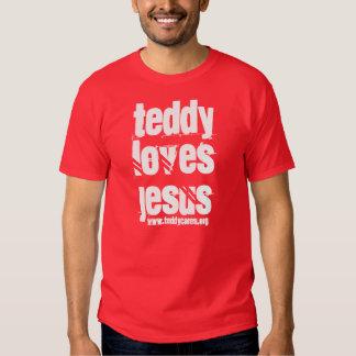 """O """"ursinho ama camisa de Jesus"""" T-shirt"""