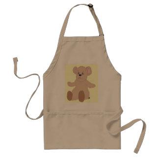 O ursinho quer um avental do abraço