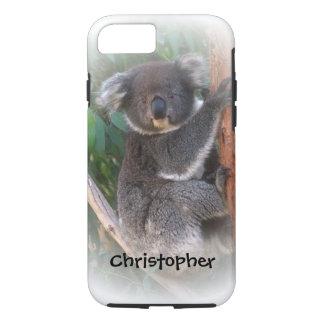 O urso de Koala apenas adiciona o nome Capa iPhone 7