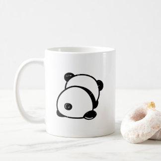 O urso de panda anti-social sae-me da caneca