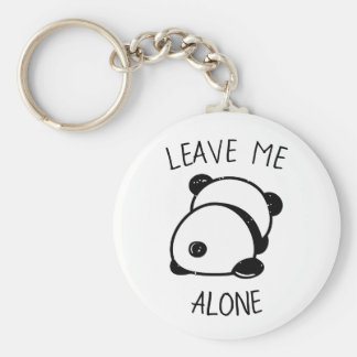 O urso de panda anti-social sae-me do chaveiro