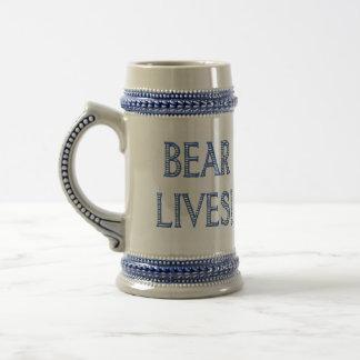 O urso vive caneca