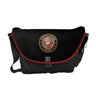 O USMC simboliza [edição especial] [3D] Bolsa Mensageiro