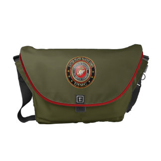 O USMC simboliza [edição especial] [3D] Bolsas Mensageiro