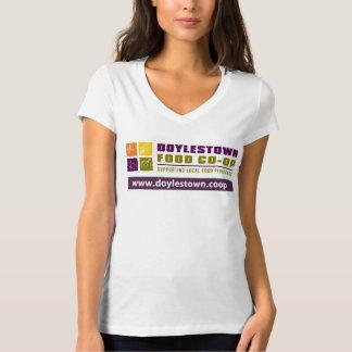 O V-pescoço das mulheres de DFC Camiseta