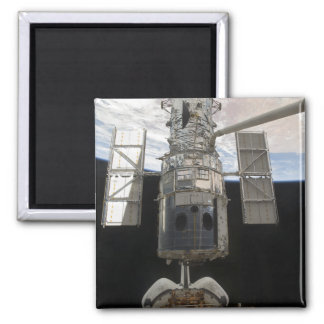O vaivém espacial Atlant do telescópio espacial de Ímã Quadrado