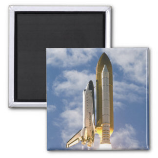 O vaivém espacial Atlantis tira 6 Ímã Quadrado