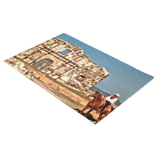 O vaqueiro e o Alamo Tapete