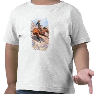 O vaqueiro (óleo em canvas) t-shirts