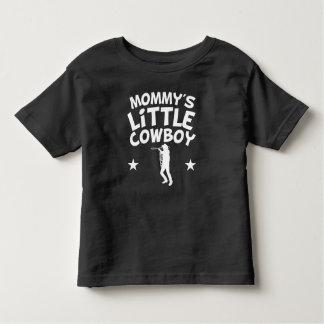 O vaqueiro pequeno da mamã camiseta infantil