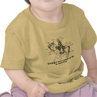O vaqueiro t-shirts