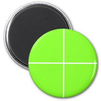 O vazio verde pálido do COMPRAR de Blanc ou Ímã Redondo 5.08cm