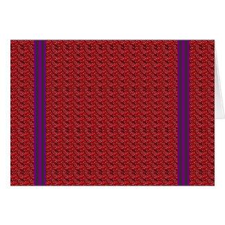 O vazio VERMELHO do rosa Textures PRESENTES do Cartão Comemorativo