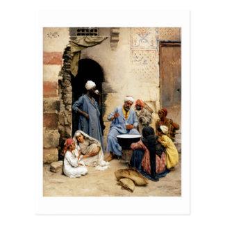 O vendedor do sahleb, cartão do Cairo