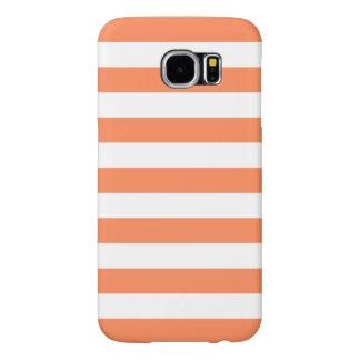 O verão listra a caixa da galáxia S6 de Samsung no Capas Samsung Galaxy S6