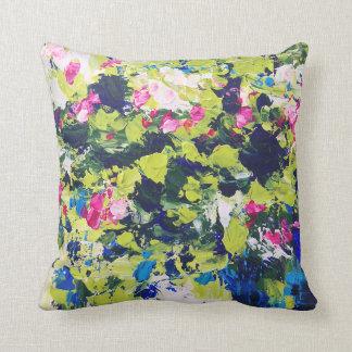 O verão molha o coxim floral travesseiros