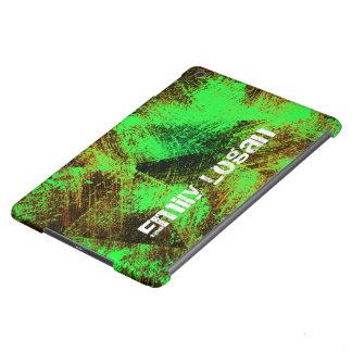 O verde à moda personalizado risca o ar do iPad Capa Para iPad Air