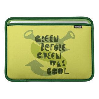 O verde antes do verde era legal bolsas para MacBook air