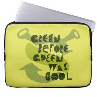 O verde antes do verde era legal capa de notebook