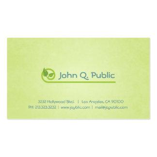 O verde da natureza deixa o cartão de visita