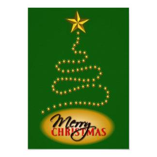 O verde do Natal e o convite de festas do ouro