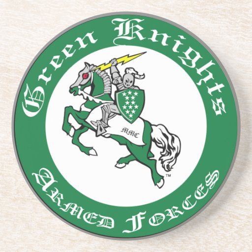 O verde Knights a porta copos