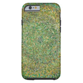 O verde pontilha o caso do iPhone 6 Capa Tough Para iPhone 6