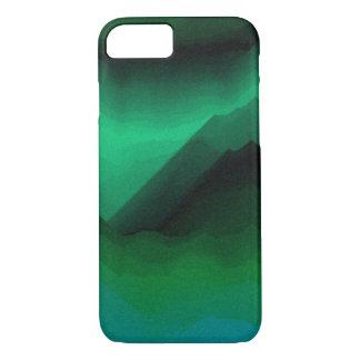 O verde sombreia a capa de telefone