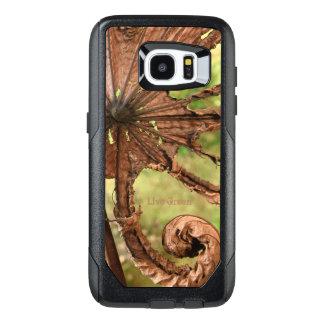 O verde vivo - folha da banana - OtterBox Samsung