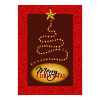 O vermelho do Natal e o convite de festas do ouro
