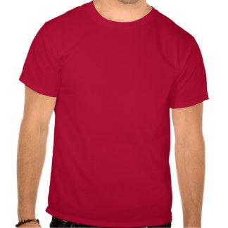 O vermelho do t-shirt da capa