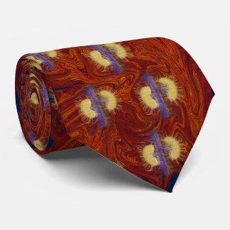 O vermelho surpreendente do rim gravata