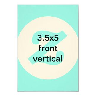 o vertical 3.5x5 convida convite 8.89 x 12.7cm