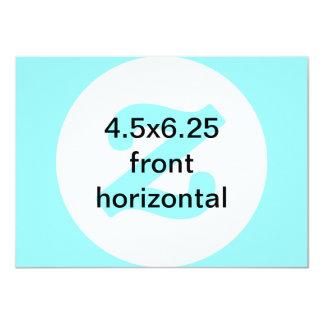o vertical 4.5x6.25 horizontal convida convite 11.30 x 15.87cm