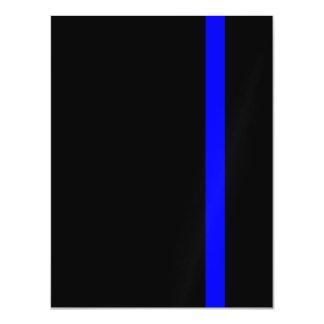 O vertical fino simbólico de Blue Line