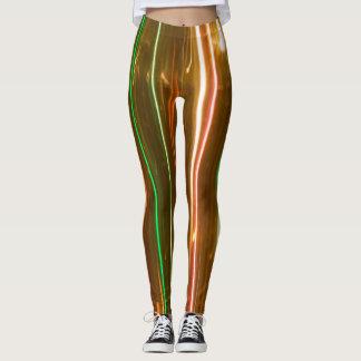 O vertical ilumina leggins legging
