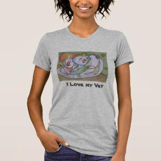 O veterinário Loving Tshirts