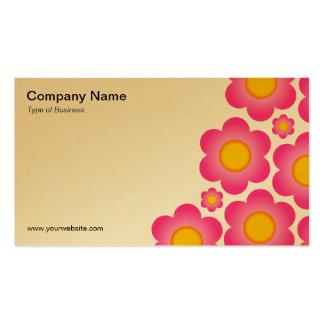 O vetor floresce II - (o ouro) Cartão De Visita