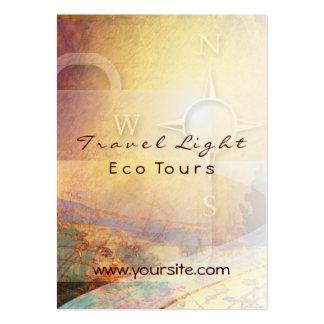 O viagem Eco claro visita o cartão de visita