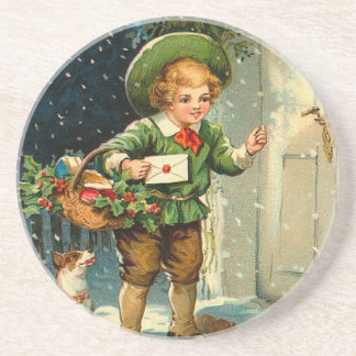 O Victorian caçoa o Natal Porta Copo Para Bebidas