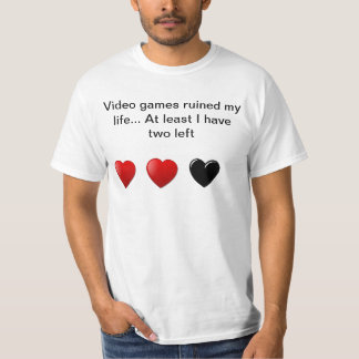 O video games arruinou meu t-shirt da vida