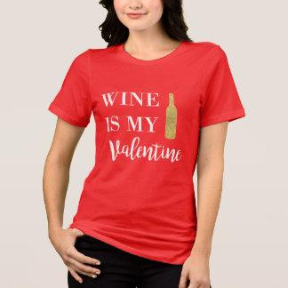 O vinho é minha camisa dos namorados
