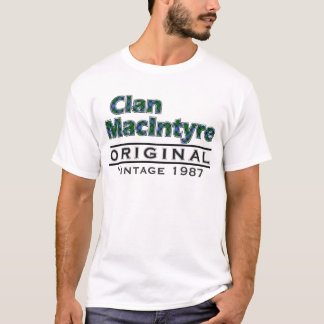 O vintage de MacIntyre do clã personaliza seu Camiseta