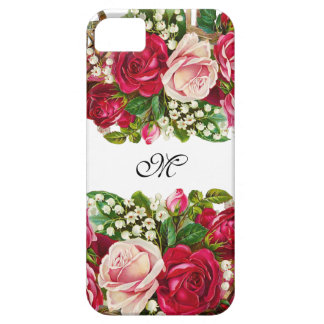 O vintage floresce capas de iphone capa barely there para iPhone 5