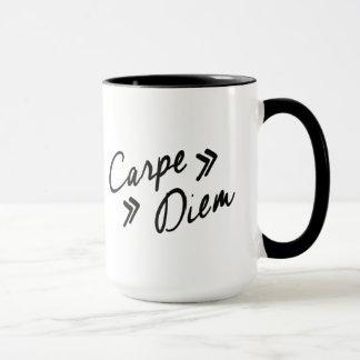 O vintage inspirou a caneca de Carpe Diem