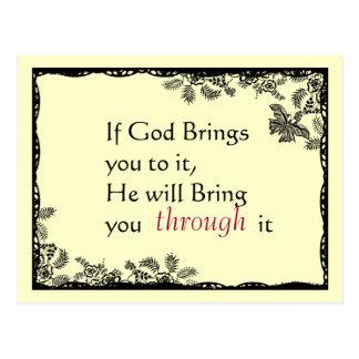 O vintage inspirou o cartão da fé