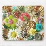 O vintage Jewels Mousepad floral