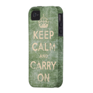 O vintage mantem a calma e continua capas para iPhone 4/4S